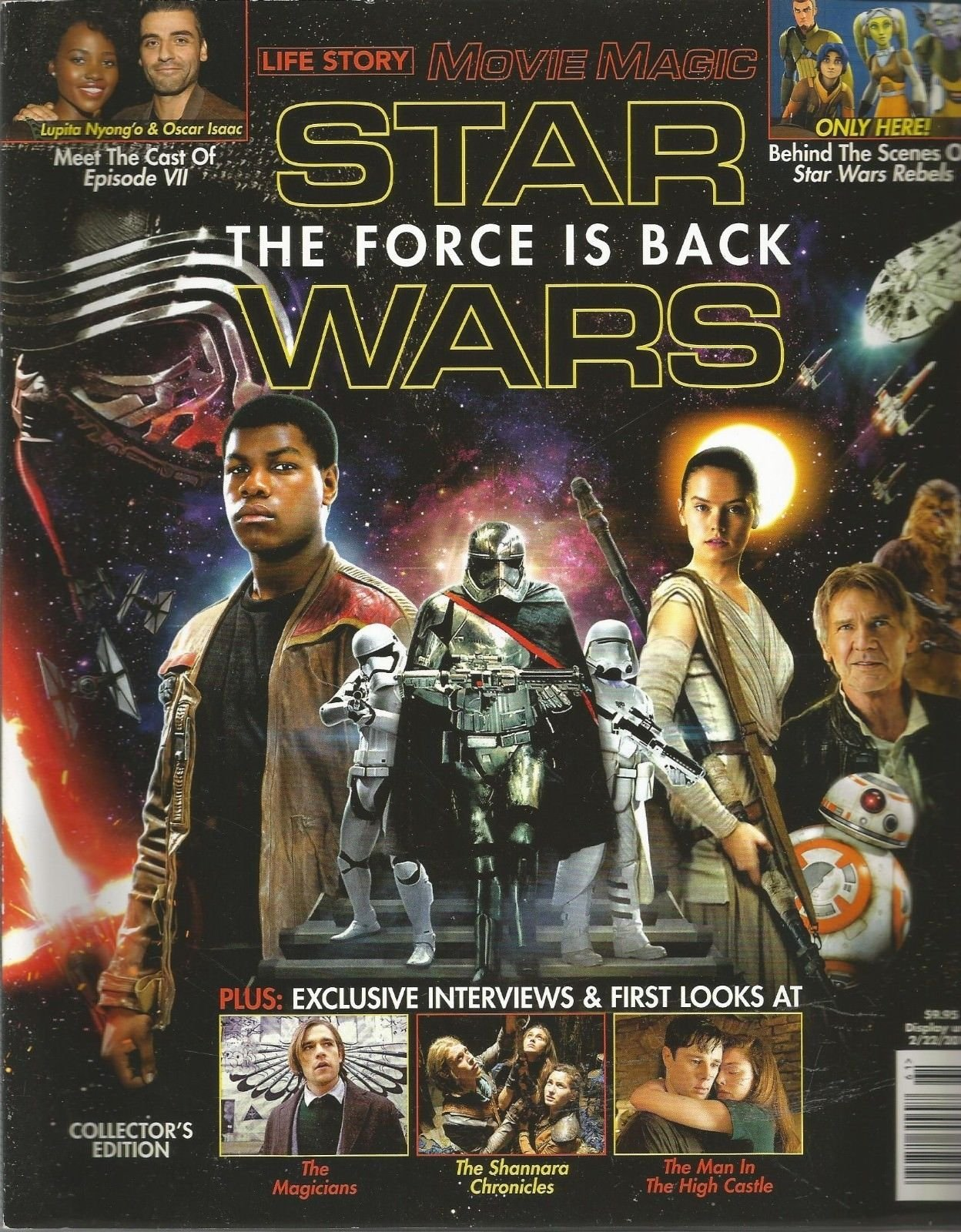 LIFE STORY, MOVIE MAGIC, STAR WARS THE FORCE IS BACK, 2016 ~