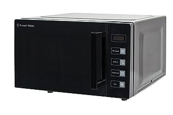Attractive Russell Hobbs RHEM2301B 23L Easi Flatbed Digital 800w Solo Microwave Black [Energy  Class E]