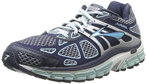 Brooks Ariel 14 W, Women's Running Shoes, Breeze/Midnight/Silver 5.5 UK