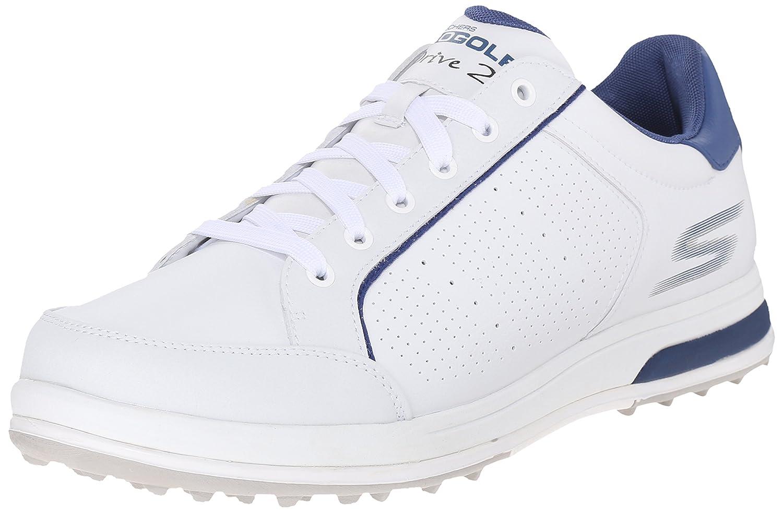 Skechers Performance Men's Go Golf Drive 2 Golf Shoe,White/Navy,10.5 M US 141[並行輸入]   B01338LKEK