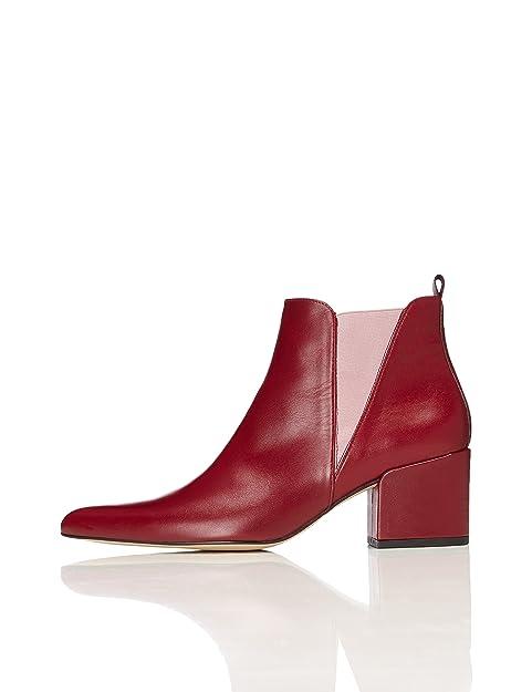 Estilo Amazon Find Zapatos Botines Chelsea Mujer es Para Y fqwv1z
