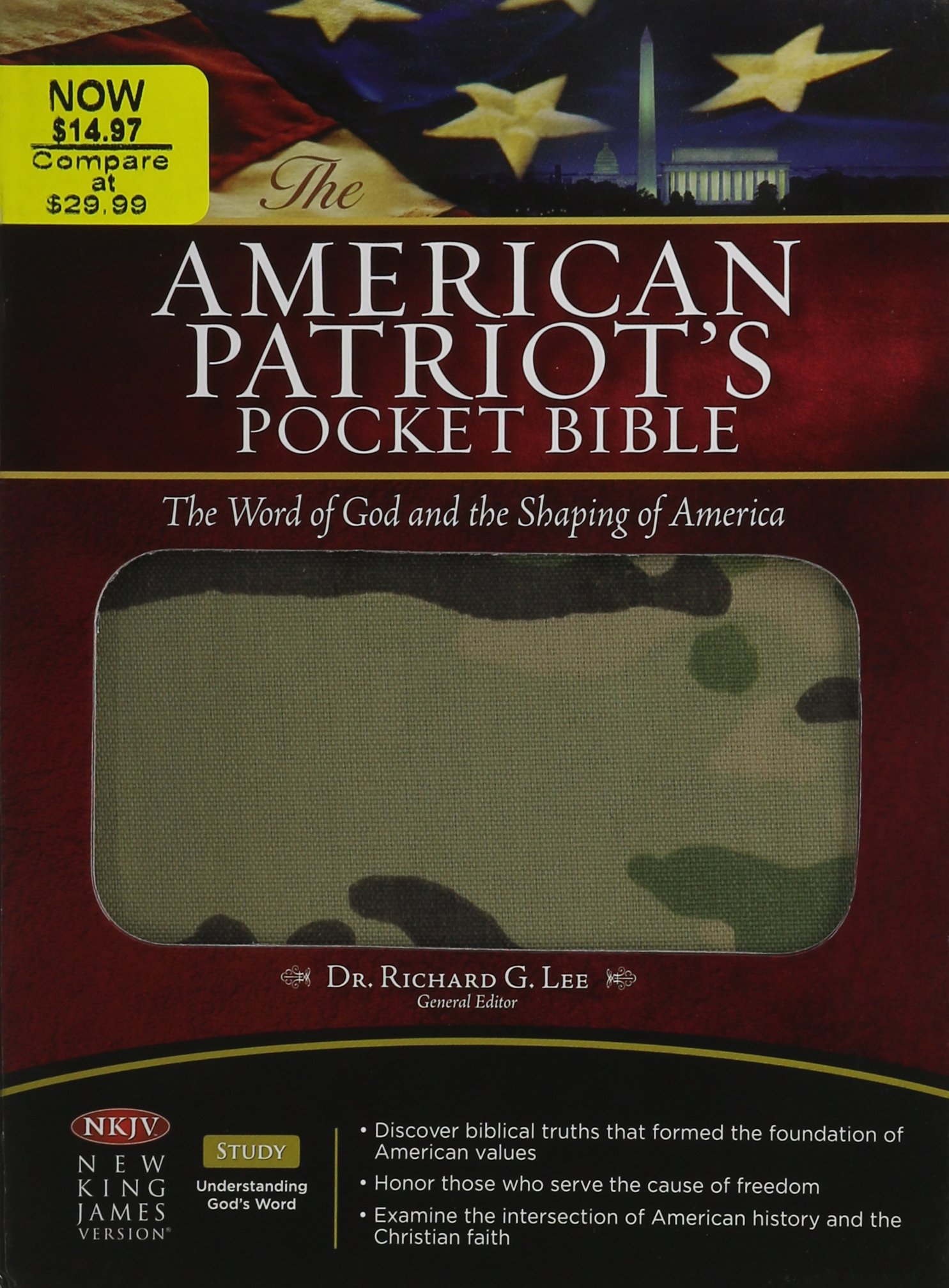 The American Patriot's Pocket Bible: New King James Verison, the Word of God and the Shaping of America pdf