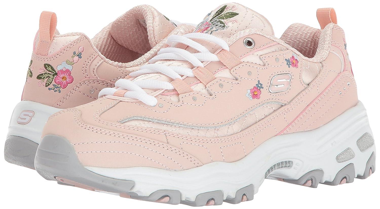 Skechers Damen Sportschuhe D´Lites Bright Blossoms Blossoms Blossoms Weiß d368da