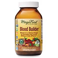 MegaFood, Blood Builder, Iron Supplement, Support Energy and Combat Fatigue Without...