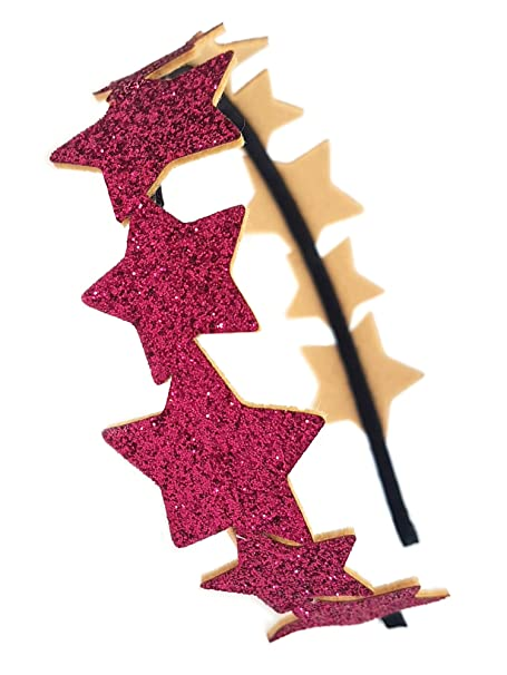 Amazon.com: ooahooah Glitter Star Bandas de Pelo para las ...