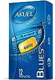 Akuel Blues, Profilattici Resistenti e Sottili, 12 Pezzi