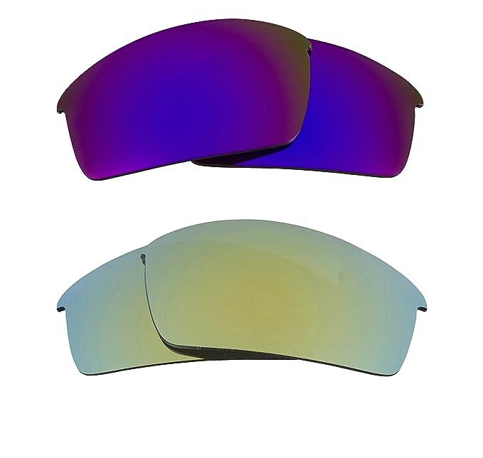 c5dc89ae36f New SEEK OPTICS Replacement Lenses for Oakley THUMP PRO - Apple Green   Purple  Mirror