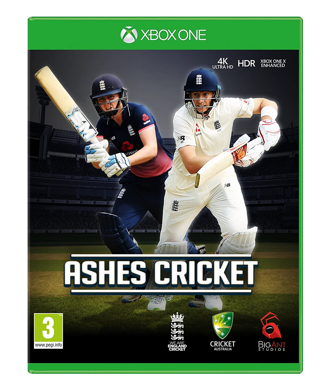 Amazon Com Ashes Cricket Xbox One Game Video Games