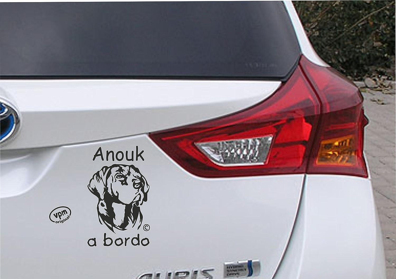 Pegatina Mascota a bordo Labrador.