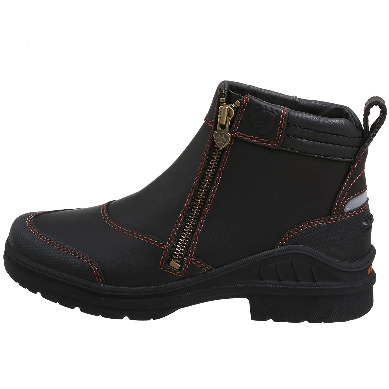 Ariat Women's Boot Barnyard Side Zip Barn Boot Women's B0018DEZFO 8.5 B(M) US|Dark Brown 814ff5