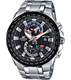 Casio Edifice Analog Black Dial Men's Watch - EFR-550D-1AVUDF (EX262)