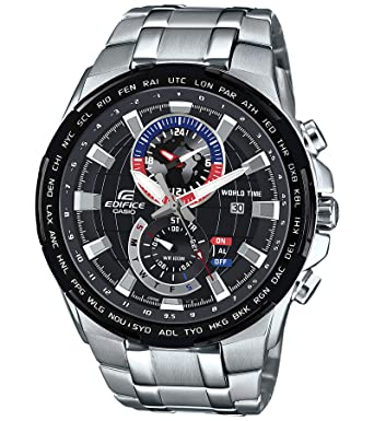 Buy Casio Edifice Analog Black Dial Men s Watch - EFR-550D-1AVUDF (EX262)  Online at Low Prices in India - Amazon.in 0b5a0e35a6