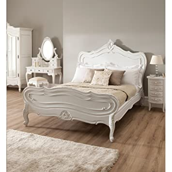Homesdirect365 La Rochelle Antique French Style Bed Double Amazon