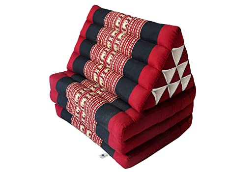 Amazon.com: Colchón de triángulo tailandés plegable con ...