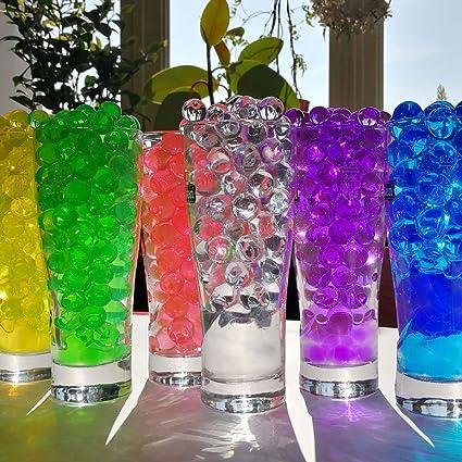 9b2ffbaaf 6 juegos de perlas de agua para flores de 1 cm de diámetro.: Amazon.es:  Hogar