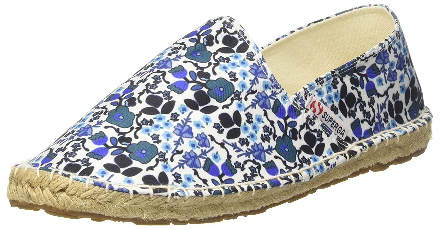 Superga Blue 4524-fabricfanw, Espadrilles Espadrilles Femme Multicolore (Flowers Blue B071NZ227T C62) 2378bc5 - fast-weightloss-diet.space