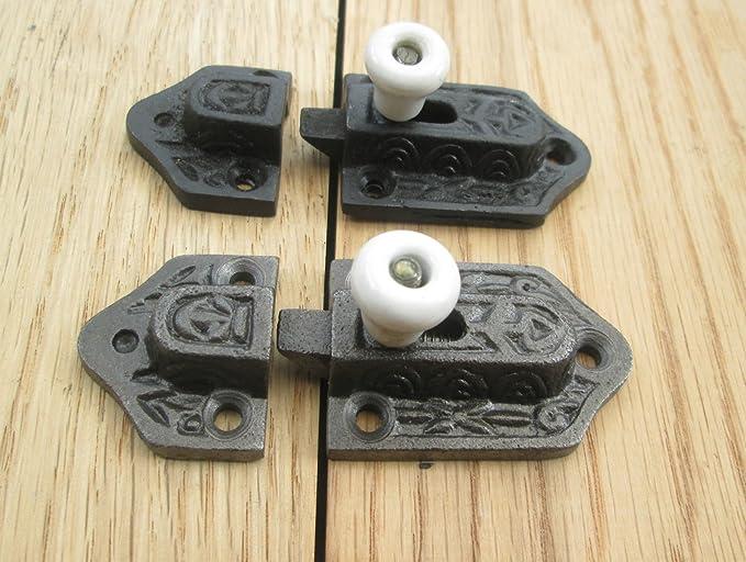 Ironmongery World® Old Vintage Gótico Tudor hierro fundido soporte ...