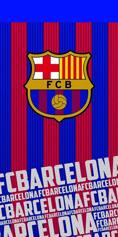 100/% Poliestere FCB FC Barcellona Asciugamano blaugrana 70/x 140/cm