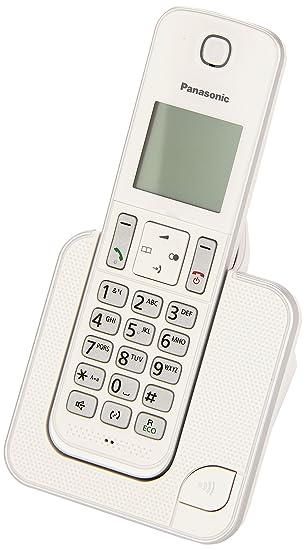 Panasonic KX-TGD310 - Teléfono fijo digital (bloqueo de llamadas, hasta 16 horas