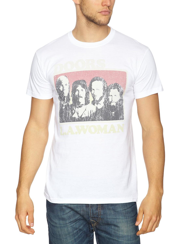 Bravado - Camiseta con cuello redondo de manga corta para hombre
