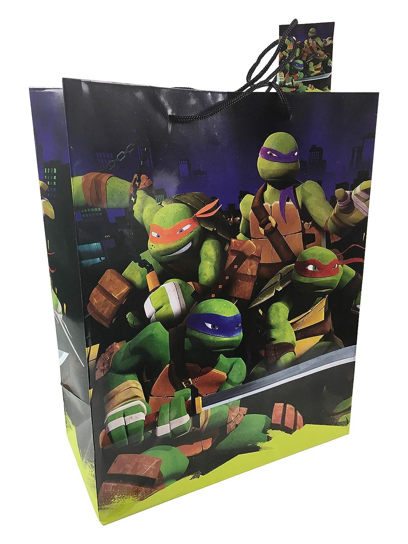 Amazon.com: Teenage Mutant Ninja Turtle Medium Gift Bag ...