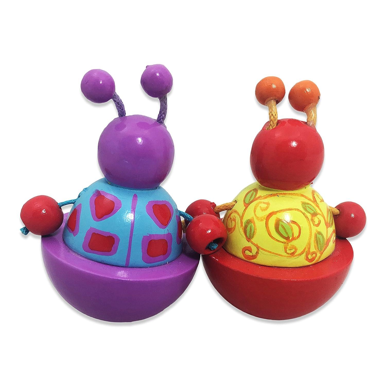 Carill/ón para beb/és con melod/ía Love Story. Caja Musical Verde y Turquesa para Beb/é con animalitos Slimy Toad Lucy Locket