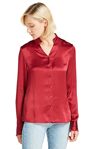 Lilysilk Camisa Mujer Mangas Largas 100% Seda Natural 22 Momme