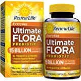 Renew Life - Ultimate Flora Probiotic Everyday - 15 billion - daily digestive and immune health supplement - 60 vegetable capsules