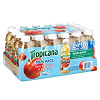 Deals on Tropicana Apple Juice, 10 Ounce Pack of 24