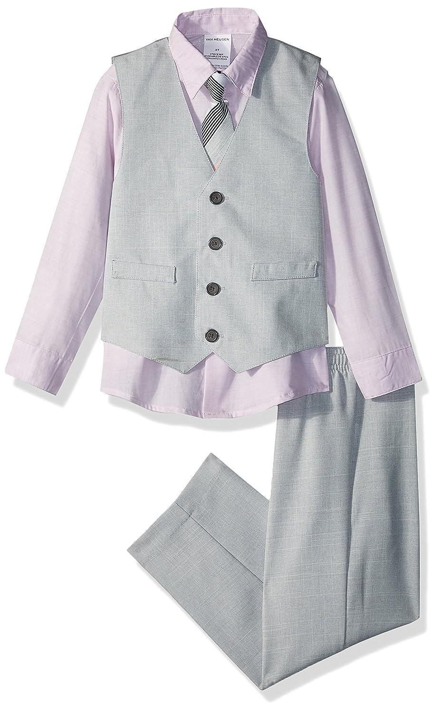 Van Heusen Boys 4-Piece Formal Bow Tie Vest Set