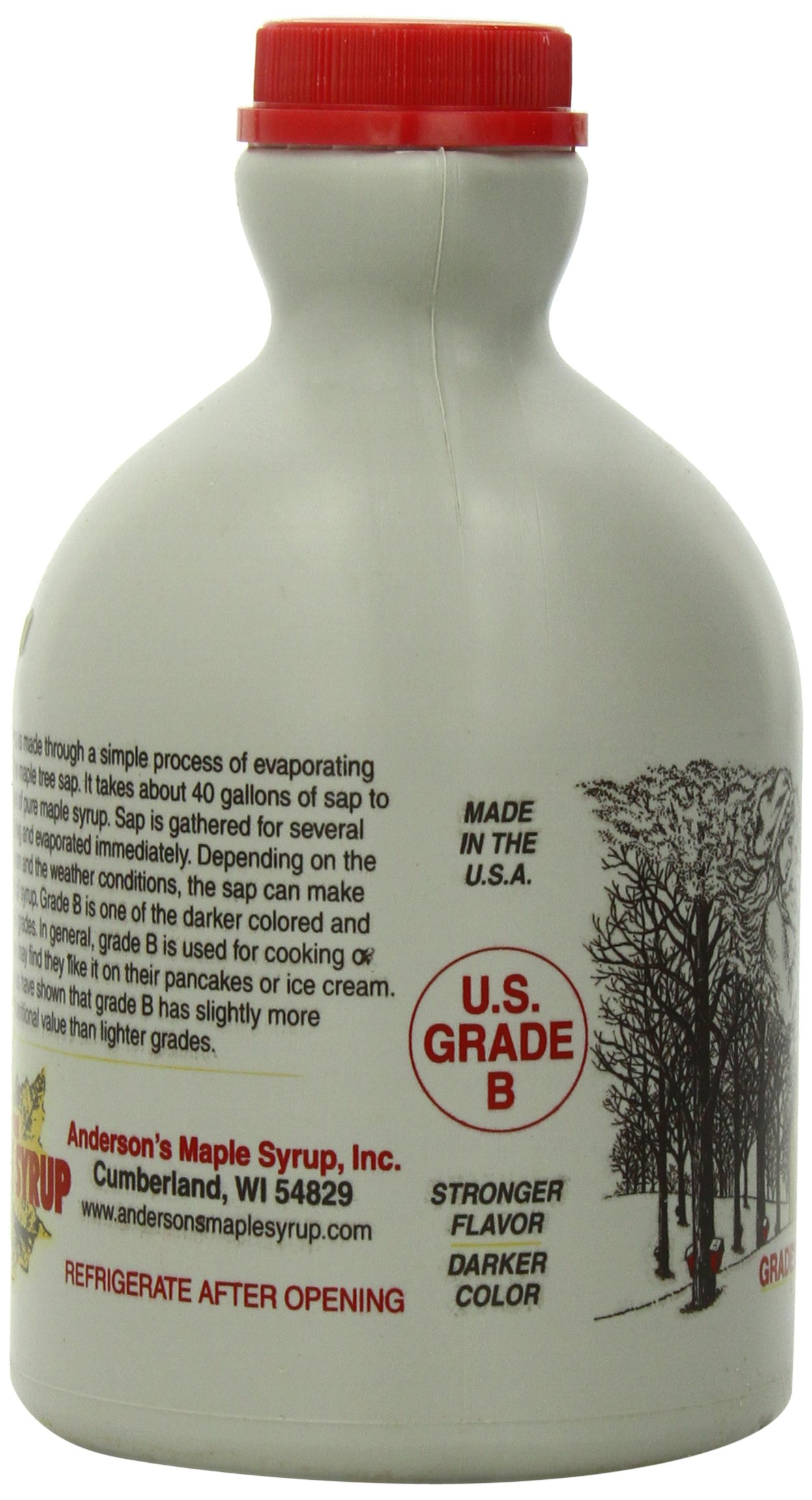Anderson's Pure Maple Syrup, Grade B, 32-Ounce by Anderson's (Image #5)