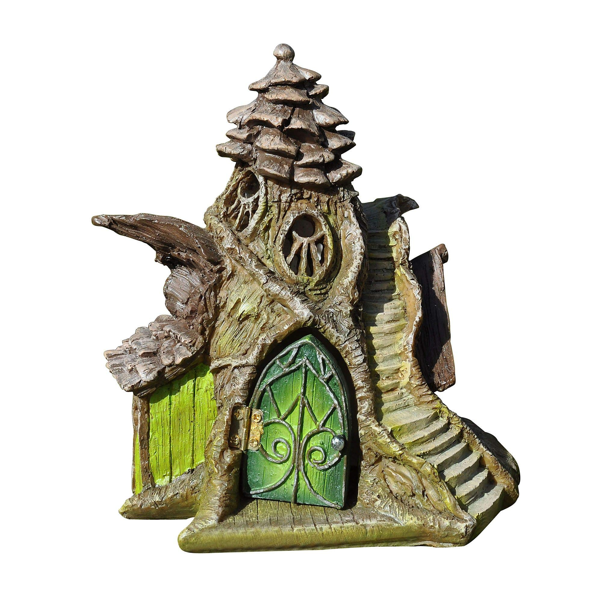 Georgetown Home and Garden Fiddlehead Fairy Merlin's Manor Fairy House