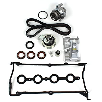 Amazon.com: 00-06 AUDI/VOLKSWAGEN 1.8L (1781cc) DOHC L4 20V TURBO New Timing Belt Kit Water Pump & Valve Cover Gasket: Automotive