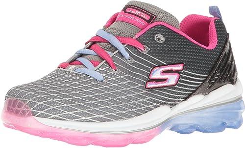 Shop Skechers Kids Girls' Skech Air Deluxe Sneaker,AquaPink