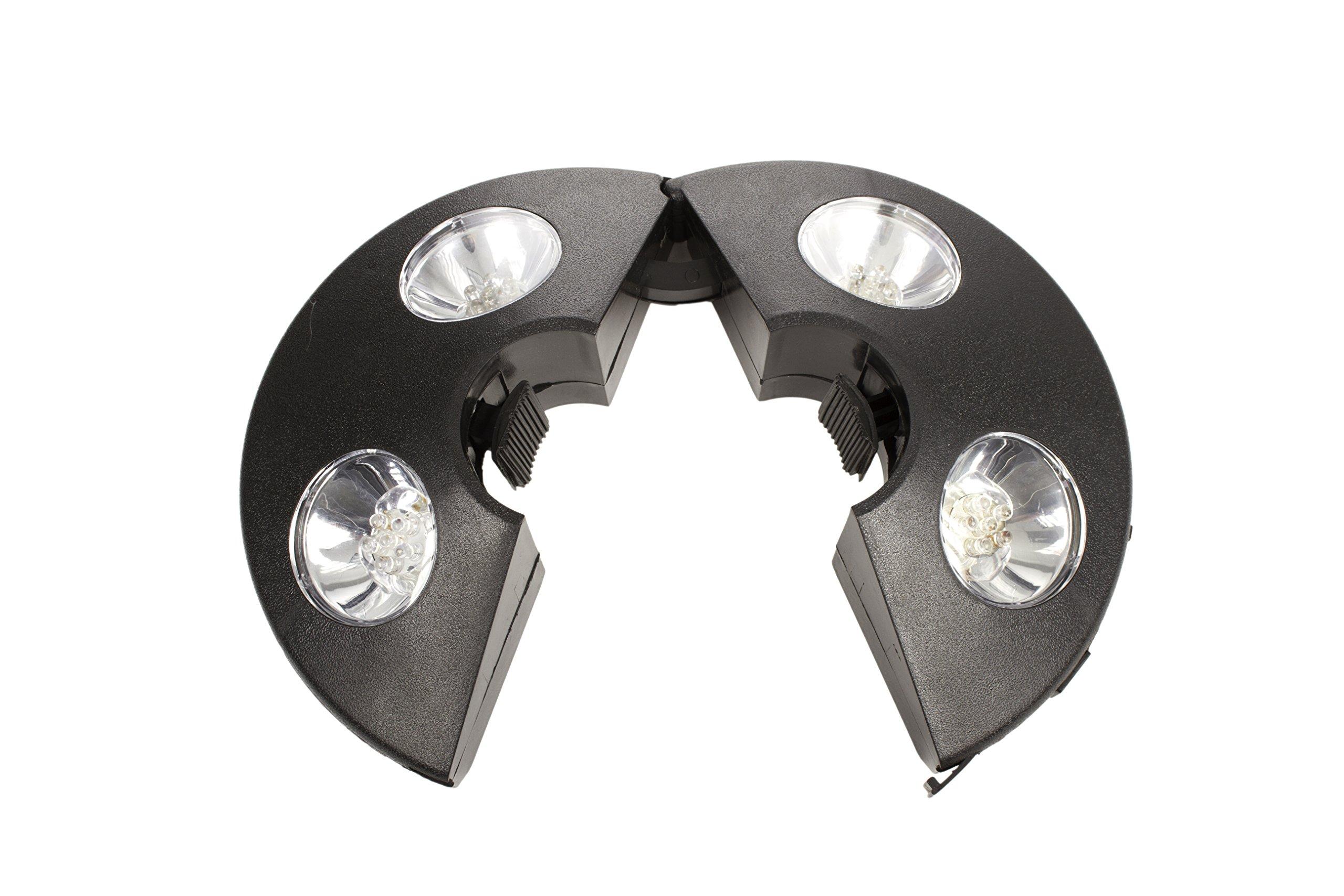 Umbrella Lights For Outdoor Patio Area - 24 LED Lights Cordless Tent Lantern - Parasol Lights