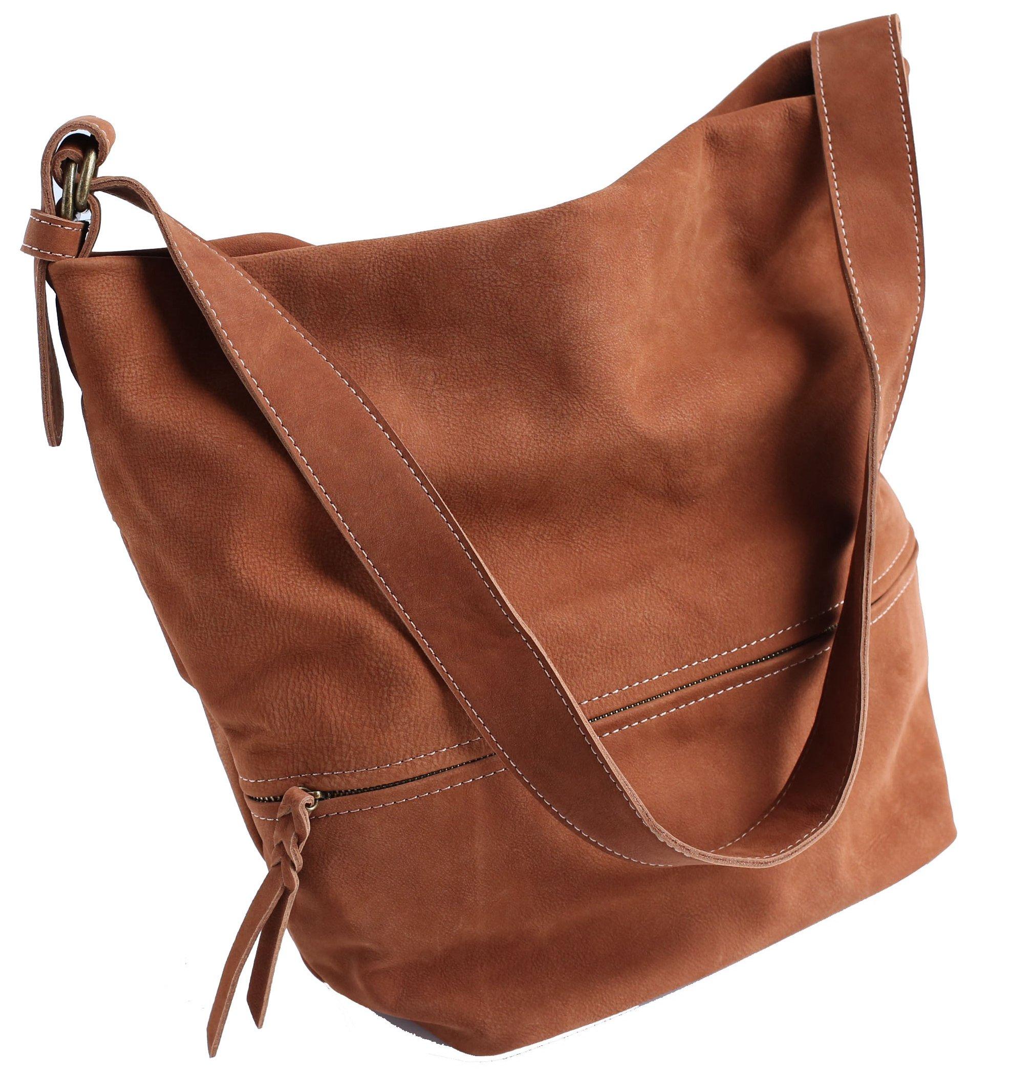 Vendange original design simple retro leather bucket bag short oblique cross bag handbag lady bag 2264