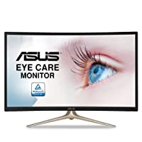 "Asus Curved 31.5"" Full HD 1080P HDMI VGA Eye Care Monitor 31.5"" Screen Led-Lit Monitor (VA327H)"