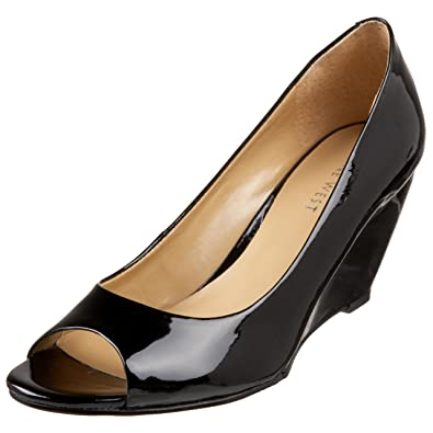superior quality hot-selling genuine first rate Amazon.com | Nine West Women's Getwitit Peep Toe Wedge | Pumps