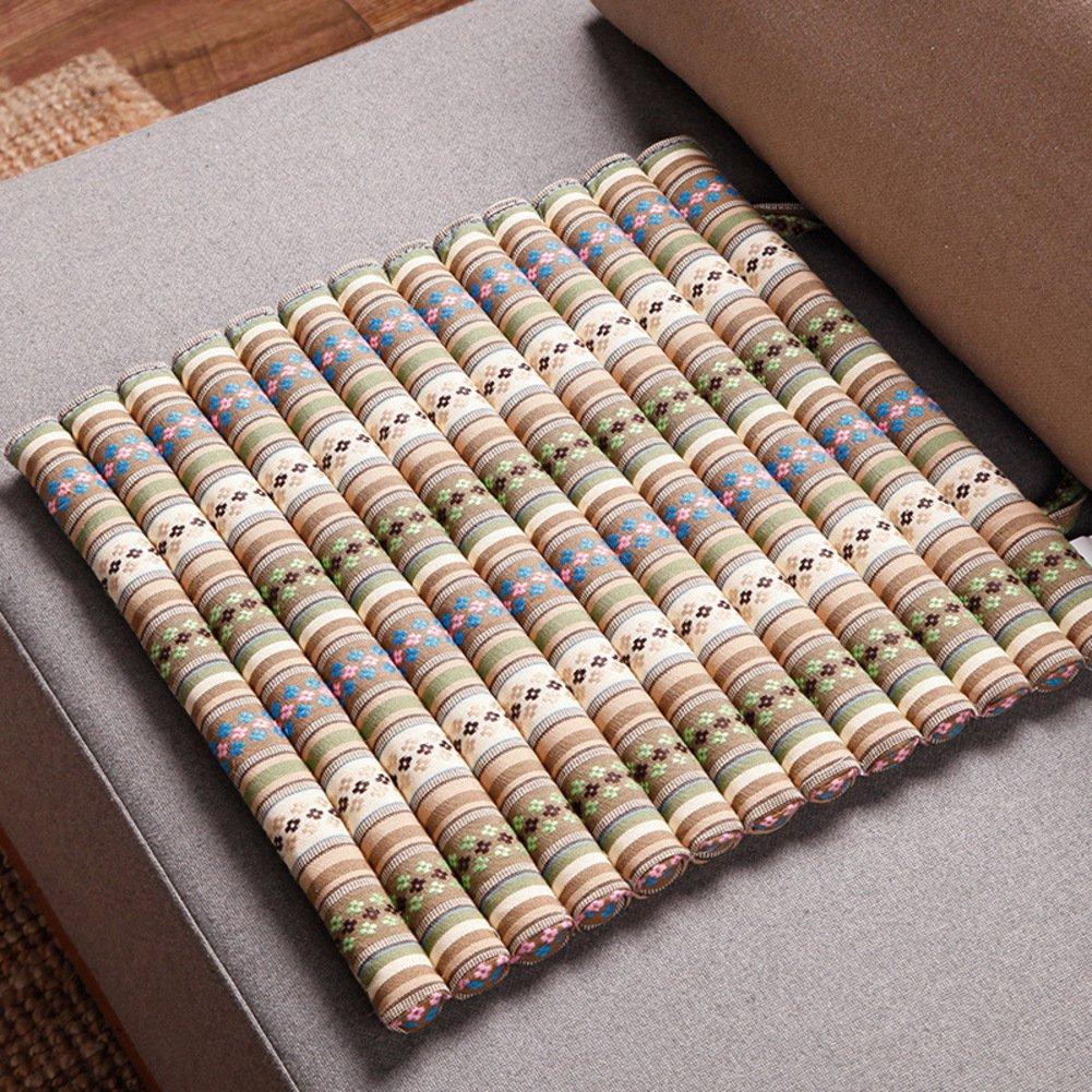 OR&DK Dining Chair Cushion Chair pad Sofa Cushioning Balcony Window Cushion Matt mat-B 42x42cm(17x17inch)