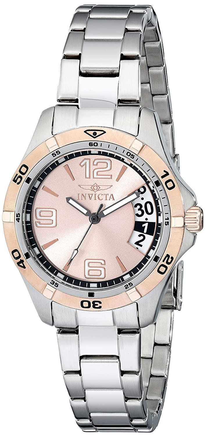 Amazon.com: Invicta Women's 0092 II Collection Sport Day Stainless Steel  Watch: Invicta: Watches