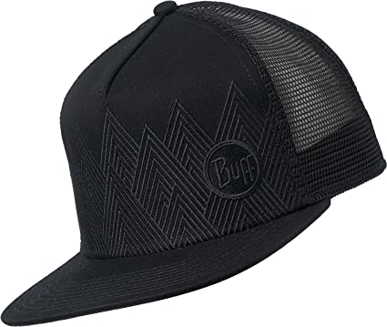 Buff Summit Gorra Trucker, Unisex Adulto, Black, Talla única