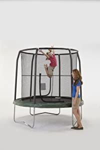 Bazoongi Jump Pod Trampoline with Enclosure, 7.5-Feet