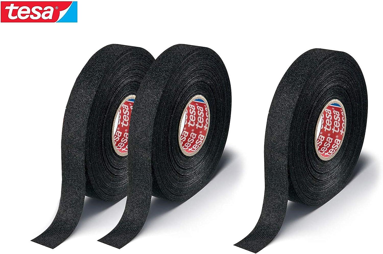 Tesa 51608, 25m x 19mm adhesive wiring cloth tape original ISOBAND 3 pcs pack
