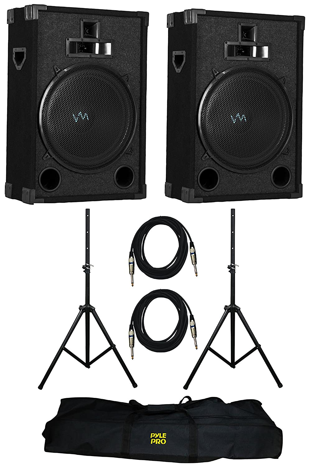 VM Audio VAS315P 1200 Watt 3 Way 15