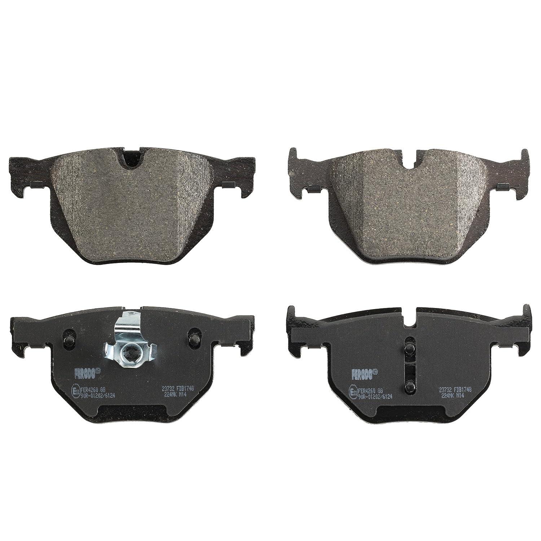 disc brake set of 4 Ferodo FDB4183 Brake Pad Set