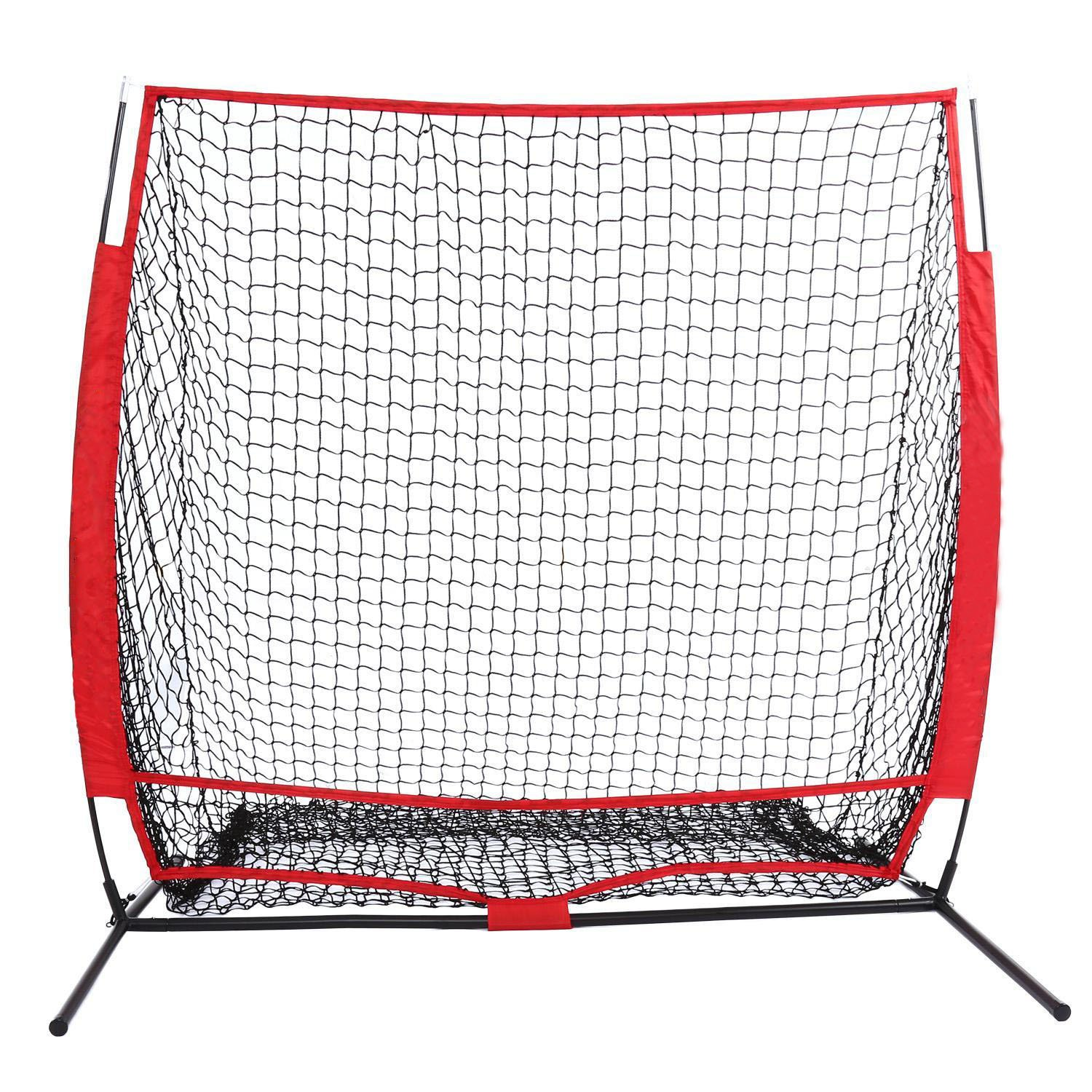 Cooshional Quickly Practice Baseball Net Pitching Net (5 x 5ft ) [UK STOCK]
