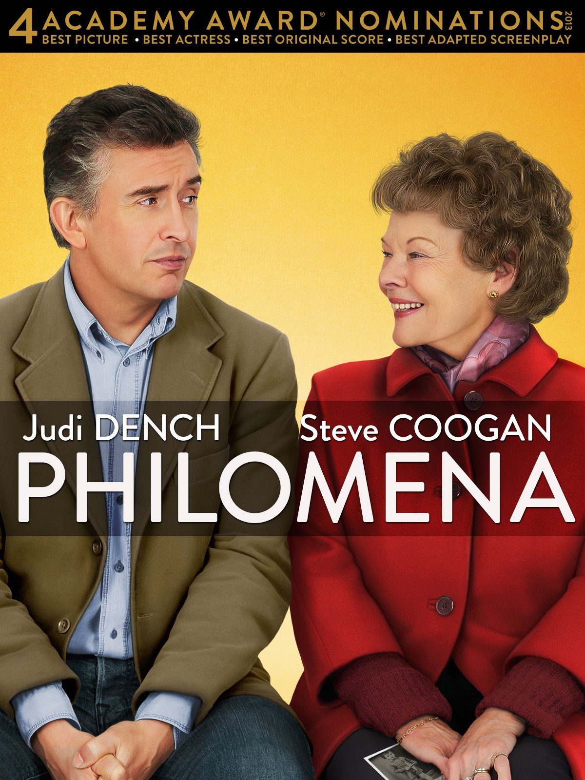 Amazon.com: Philomena: Judi Dench, Steve Coogan, Stephen Frears, Carolyn  Marks Blackwood: Amazon Digital Services LLC