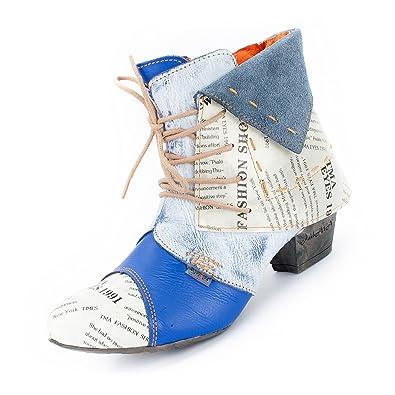 TMA Fallen Normal aus, Bottes pour Femme - Bleu - bleu roi,