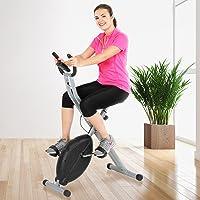 Trimmrad - mit 4 Anzeigenoptionen, Magnetisch, bis 100 kg - X-bike, Ergometer, Heimtrainer, Fahrradtrainer, Hometrainer, Fitnessfahrrad, Fitnessbike