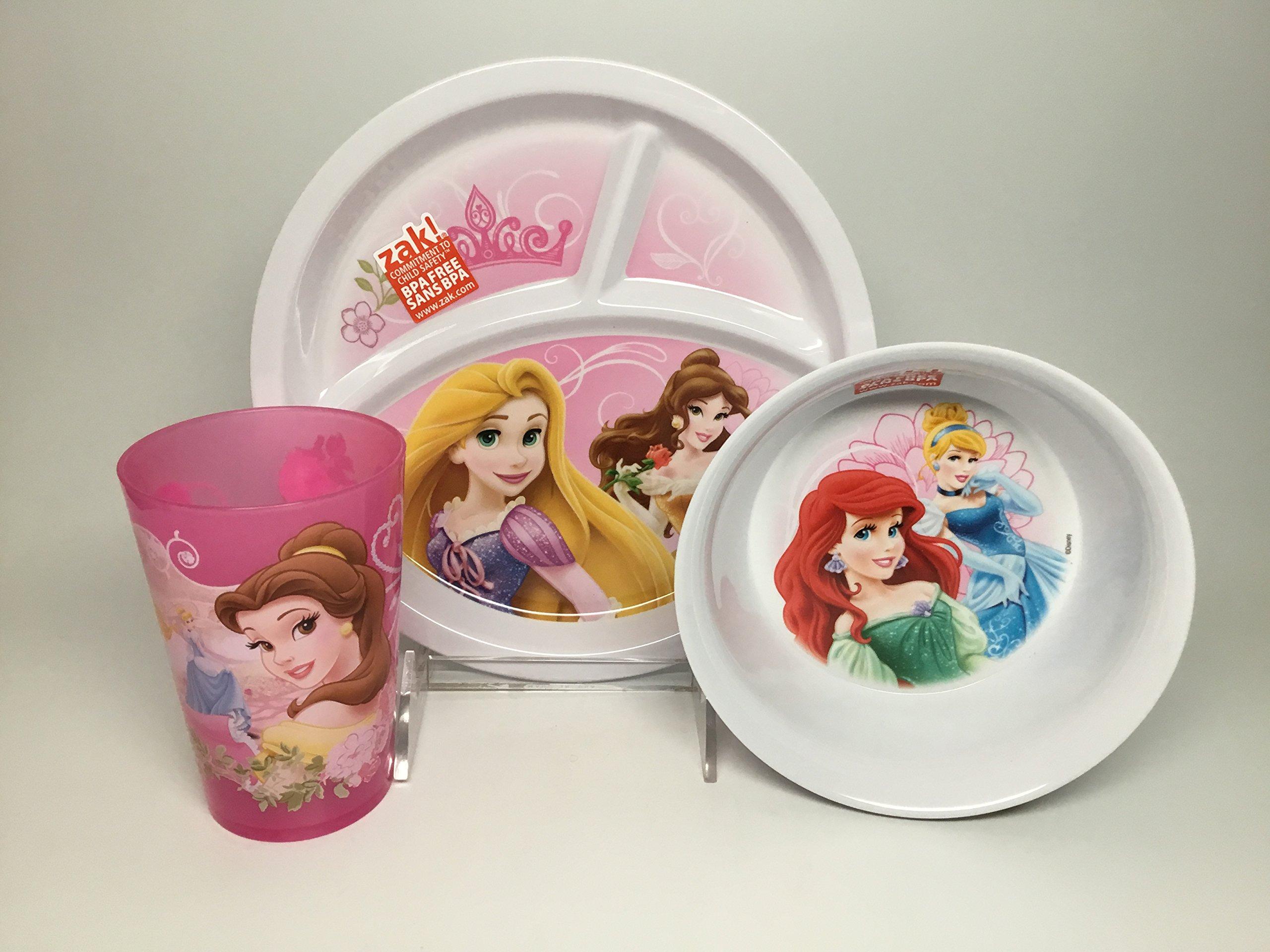 Disney Princess Divided Plate Set